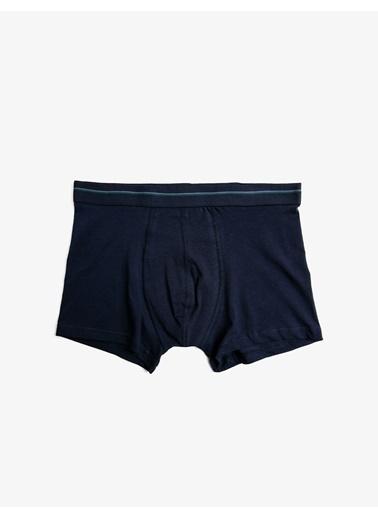 Koton 3'Lü Boxer Set Mavi